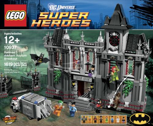 LEGO Batman Arkham Asylum Breakout 10937 Super Heroes DC Universe New Sealed Set
