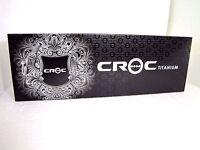 Croc Classic Titanium Silver, Fuchsia, Black Hair Straightening Iron Personal Care