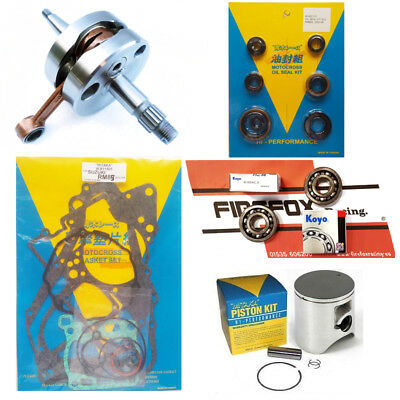 Suzuki RM85 2008 Mitaka Top End Rebuild Kit Inc Piston /& Gaskets