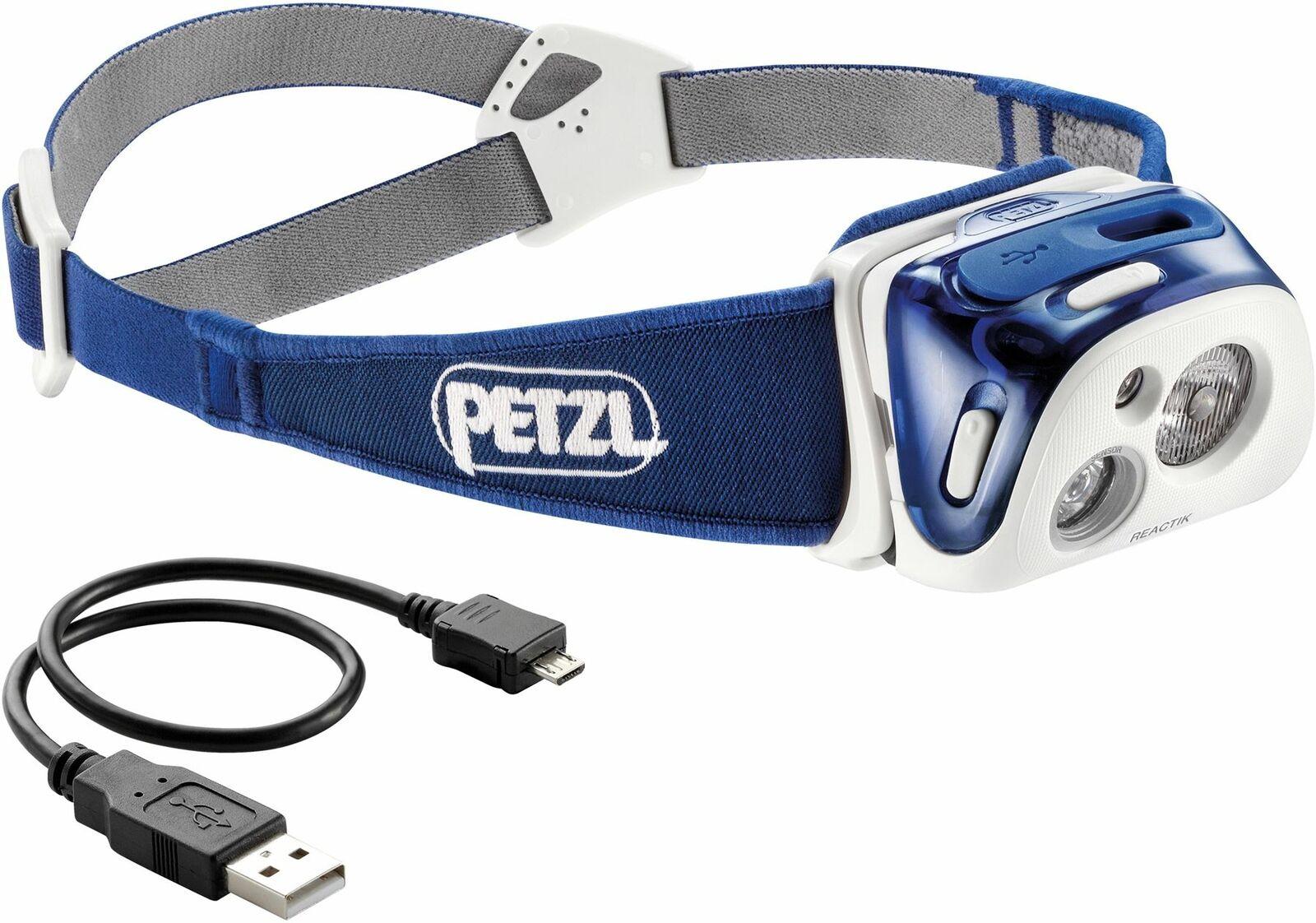 Petzl Reactik 220 LuSies Headlamp   Blau   Fishing Headlight