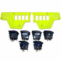 Waterproof Lime Squeeze Dash Panels Switches Incl +warranty Polaris Xp1000 2016