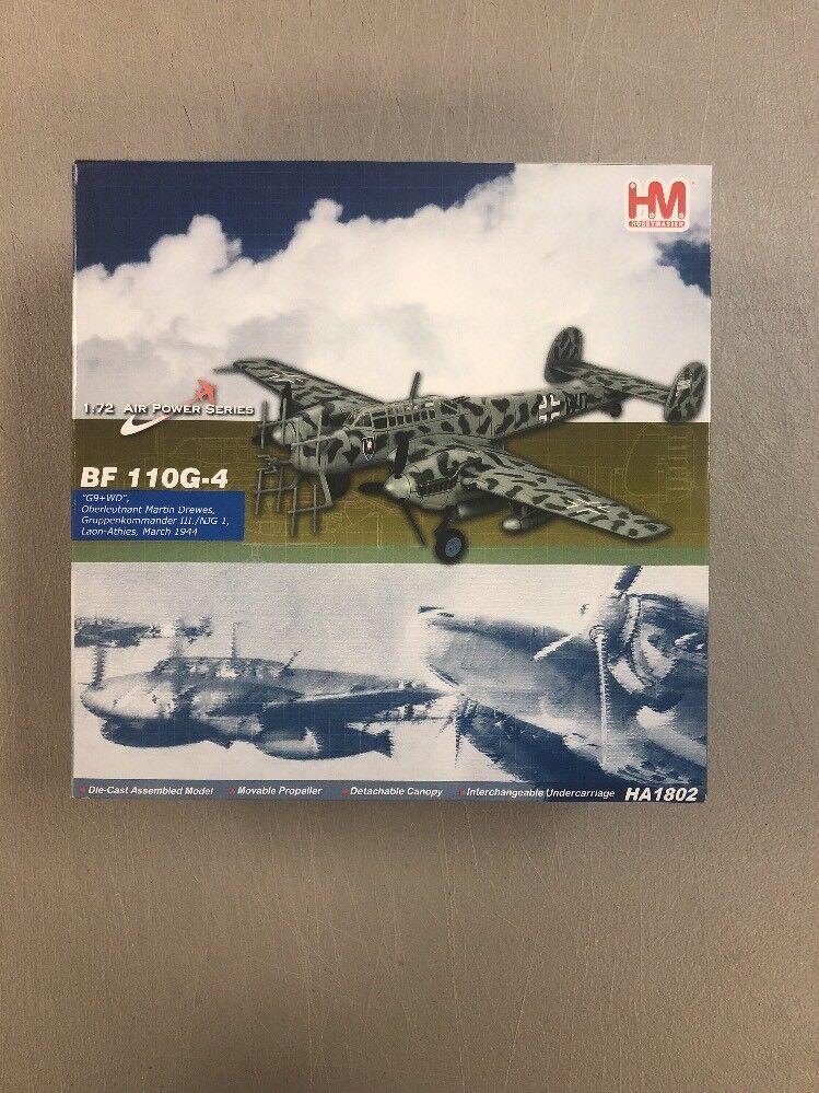Hobby Master 1 72 Bf 110G-4 Laón-Athies HA1802