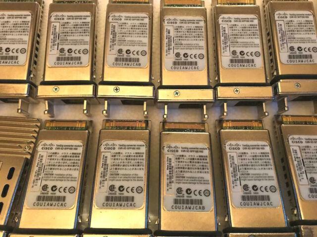 Geniune CISCO CVR-X2-SFP10G 1-Port X2 to SFP TenGig Converter Module 10Gbps X2-S
