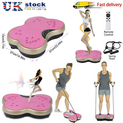 Whole Body Vibration Platform Ultra Slim Exercise Plate Fitness Machine Power