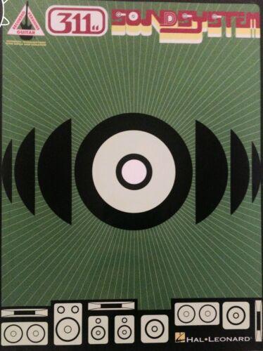 311 GUITAR SONGBOOK SOUNDSYSTEM TABLATURE 311 TABLATURE GUITAR TAB