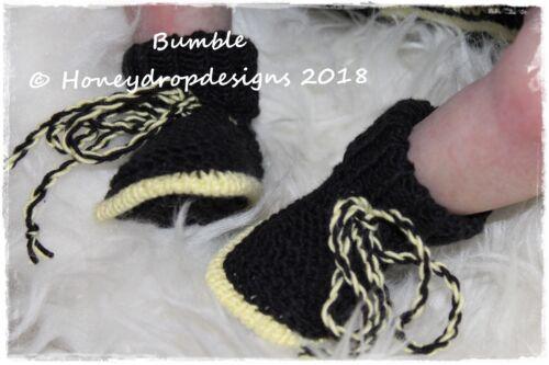 Reborn//bebé recién nacido 6 meses Bumble Honeydropdesigns papel Tejer patrón