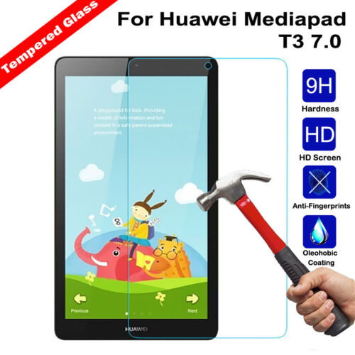 """Premium Tempered Glass Film Screen Protector For Huawei Honor X1 X2 7.0/"""" Tablet"""