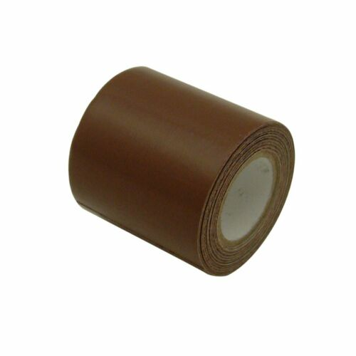 2 x15 Adhesive Leather Vinyl Patch Repair Cover Duct Tape For Seat Chair Brown N
