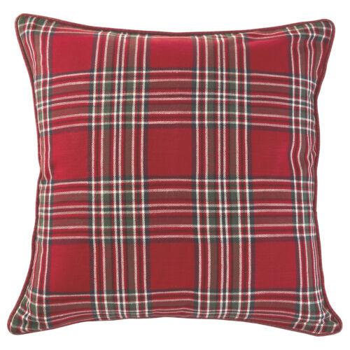 glissière coton rouge IKEA bägarkrokus Taie d/'oreiller 50x50cm Housse de coussin M