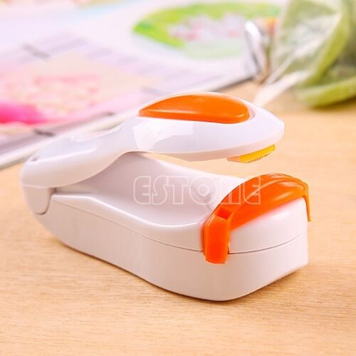 Portable Mini Heat Sealing Machine Impulse Sealer Seal Packing Plastic Bag Kit