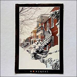 Montreal-Stairways-2002-Postcard-P432