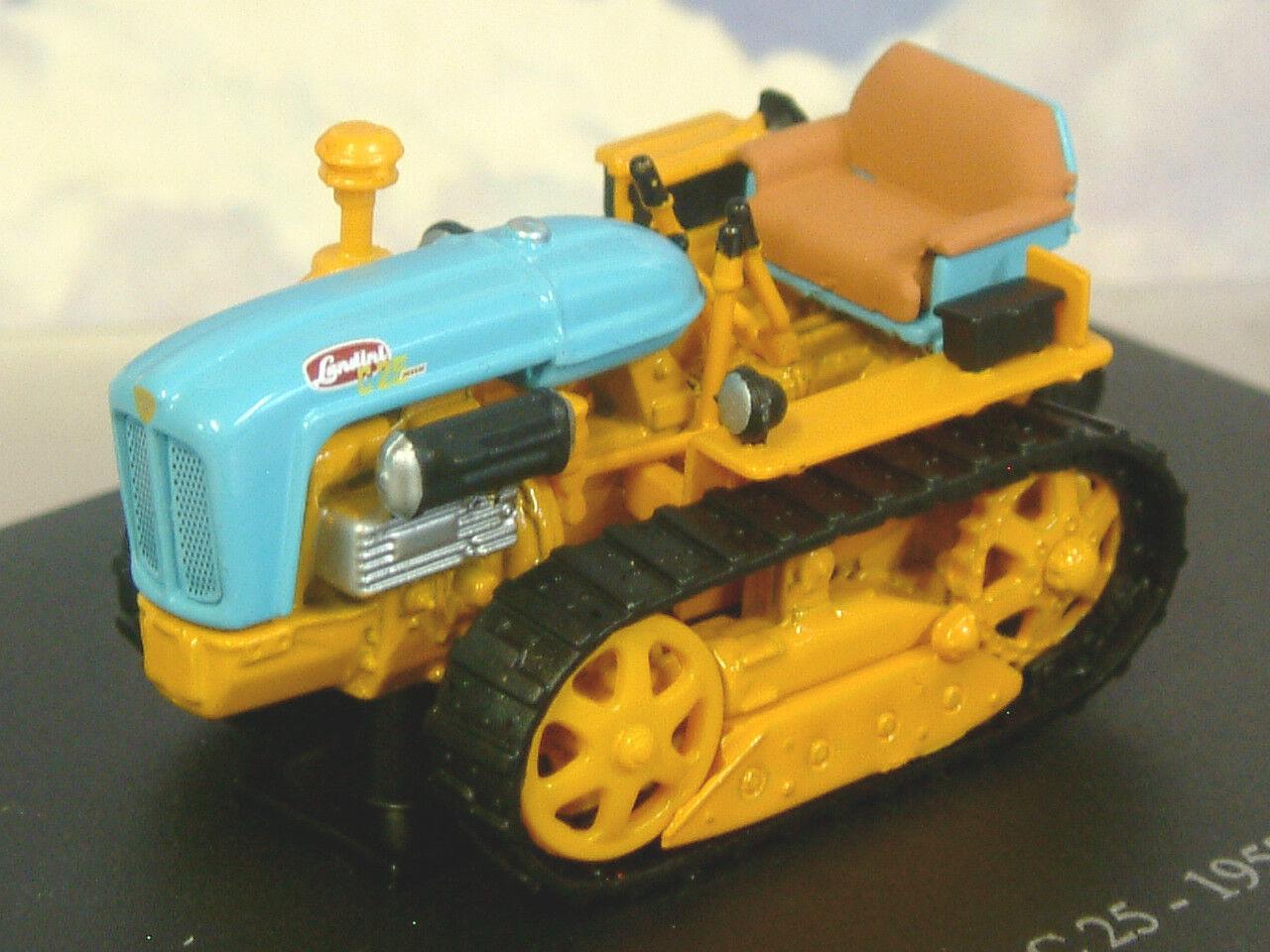 U H HACHETTE DIECAST 1 43 1957 LANDINI C 25 C25 CATERPILLAR TRACTOR orange TR54