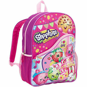 Details about Shopkins Backpack School Book