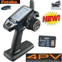 Futaba Futk4700 4pv 4-channel T-fhss Computer Radio System Transmitter /receiver on sale