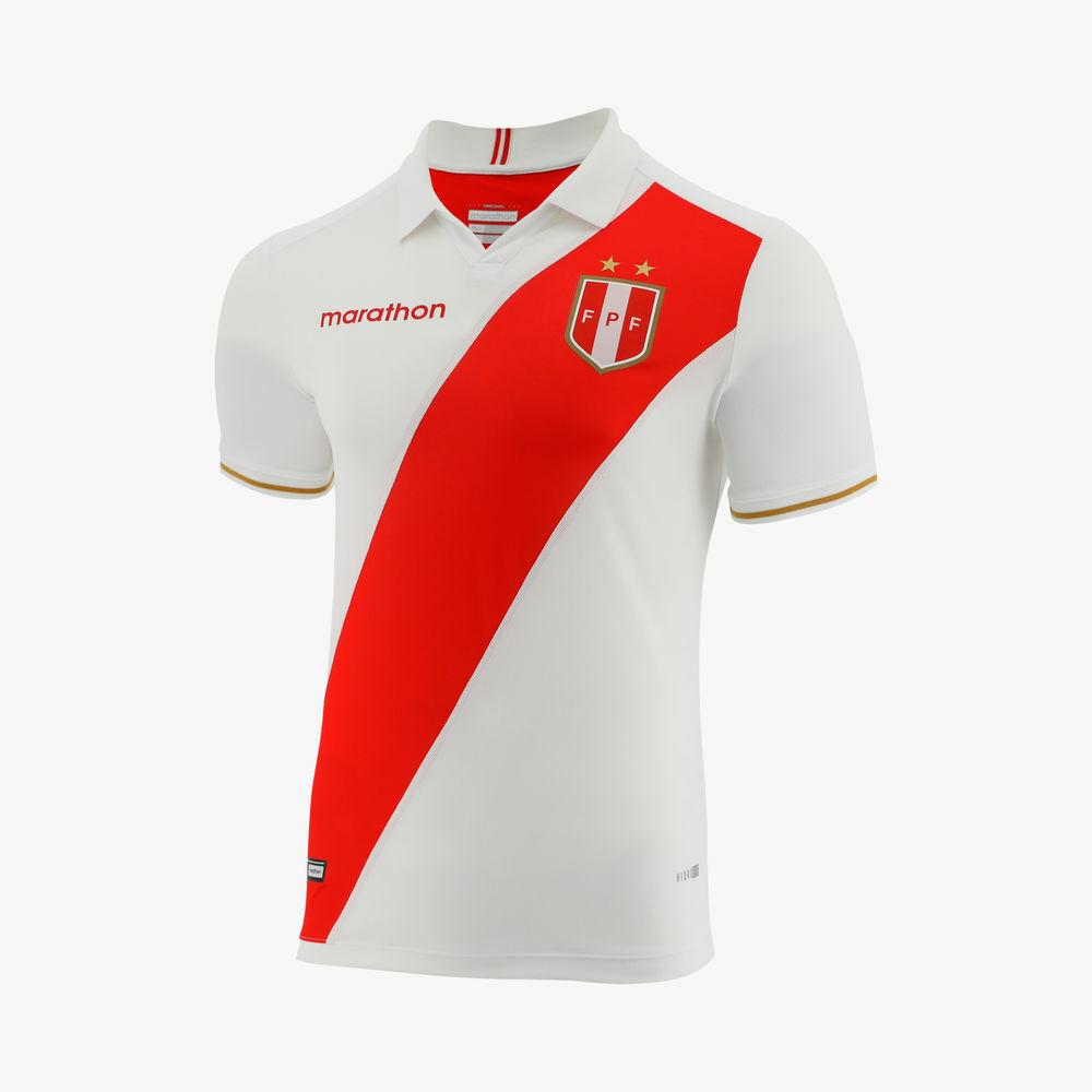 Jersey Perú Copa América 2019 fútbol original maratón adicional