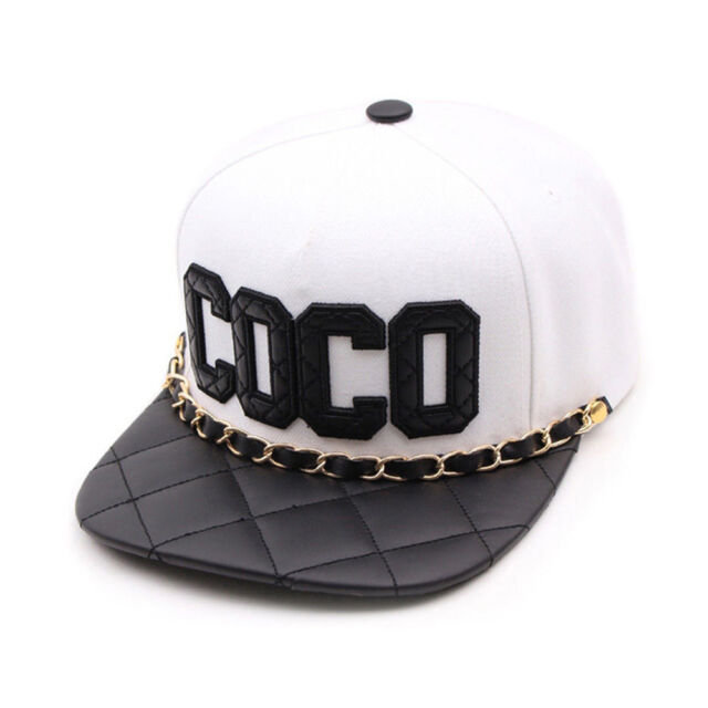 1f13a21fb66 Frequently bought together. Unisex Mens Womens Teamlife COCO Chain Casual  Baseball Cap Strapback Hats WHITE