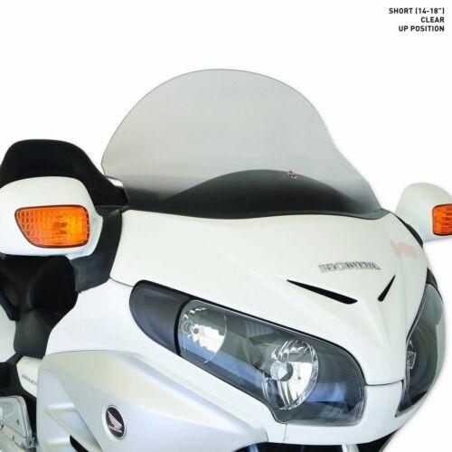 "18/"" Clear Flare Curved Windshield Honda Goldwing GL 1800 01-17 Klock Werks 14/"""