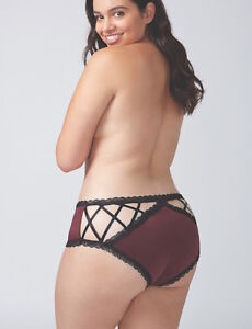 705f1b3fd LANE BRYANT CACIQUE STRAPPY BACK CHEEKY PANTY 26 28 Sassafras C Disc ...