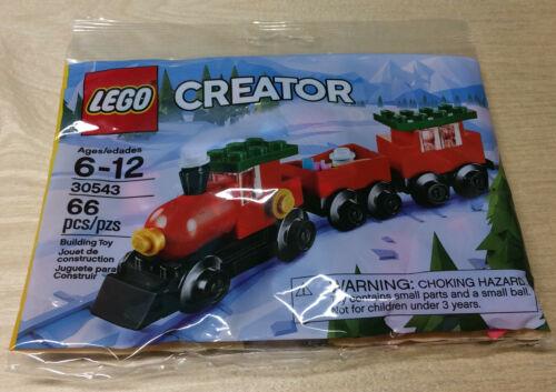 "LEGO CREATOR Set 30543 /""CHRISTMAS TRAIN/"" Mini Model 66 pcs NEW Winter Holiday"