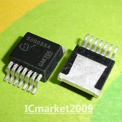 5 PCS BTS50055-1TMA TO-263 S50055A Smart Highside High Current Power Switch