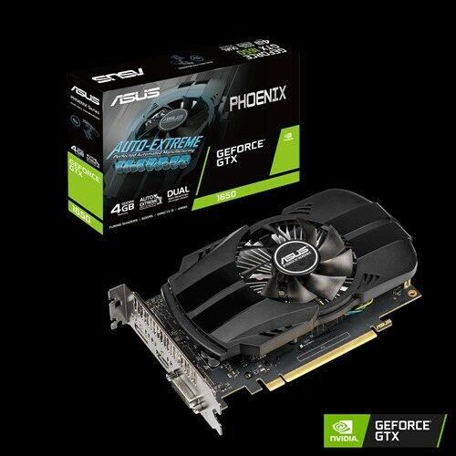 NEW ASUS GeForce GTX 1650 4GB GDDR5 PH-GTX1650-4G PCI-E Video Card HDMI DVI DP