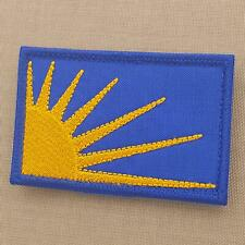 "Irish Republican Sun Burst /& Fianna 3x2/"" Quality Patches Iron//Stitch On."