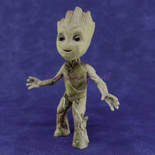 Guardians of the Galaxy Vol.2 Baby Groot Vinyl Qute Figure Figurine Toys Doll US
