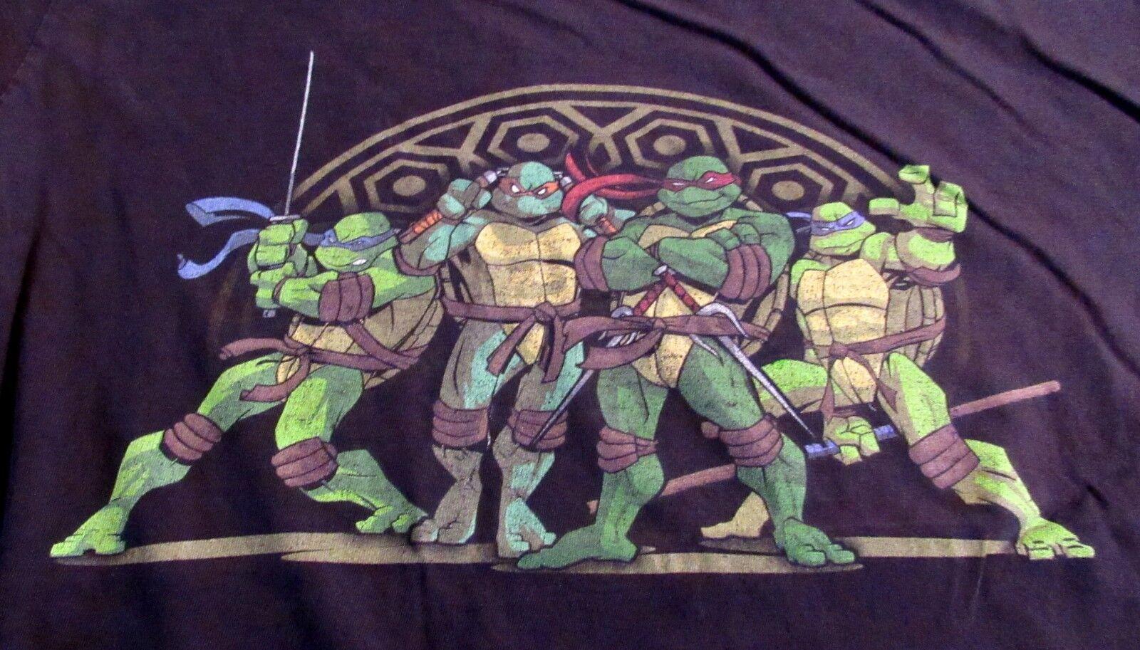 Vintage 90s TNMT Teenage Mutant Ninja Turtles Mens Graphic T-Shirt M