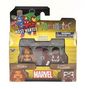Minimates-Tigra-amp-Classic-Falcon-Marvel-Series-69-Classic-Avengers-2-Pack-NEW
