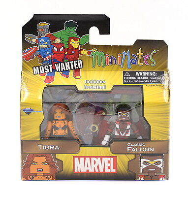 Falcon TRU18 Exclusive 4-figures THOR Nouveau Marvel Minimates lot Captain America