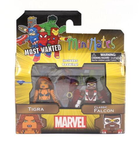 NEW Minimates Tigra /& Classic Falcon Marvel Series 69 Classic Avengers 2-Pack