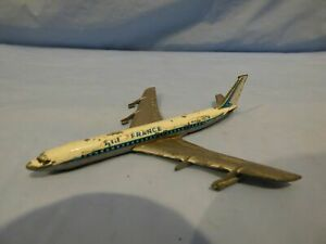 Vintage-lintoy-Boeing-707-B-aviones-de-Air-France-avion-aeroplano-juguete-Diecast