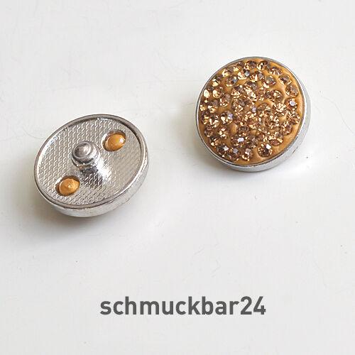 Click Button Chunks Druckknöpfe 21 mm DIY Polymer Clay und Strass Snap Button