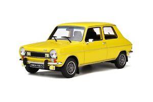 1-18-Otto-Models-Simca-1100-TI-1200-Yellow-Maya-OT597-cochesaescala