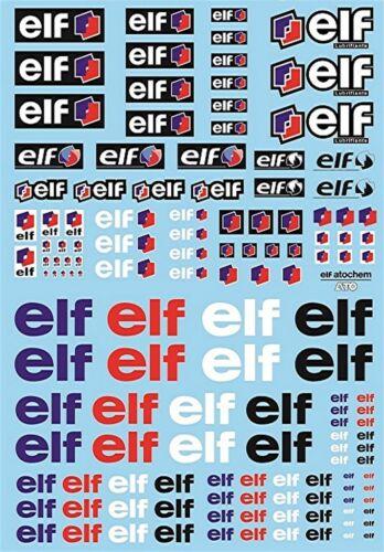 Elf Sponsoren Bogen No.2-1:32 Decal Abziehbilder