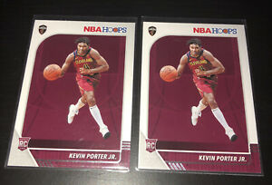 2 CARD LOT (x2) - 2019-20 NBA HOOPS KEVIN PORTER JR #225 ROOKIE RC