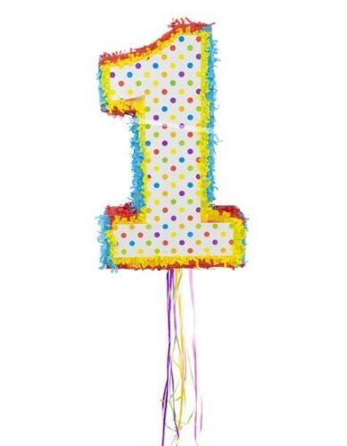 Pinata Zahl 1 Mexiko Party Eins Candy Versteck Partyspiel Kindergeburtstag2
