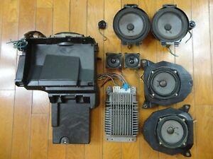 Bose 10 Piece Car Speaker System Gm Suv Escalade Yukon Denali Avalanche 2003 07 Ebay