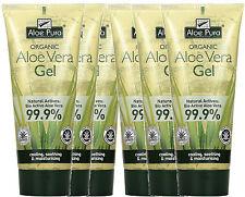 Aloe Pura Orgánico Aloe Vera Gel 200ml seis tubos