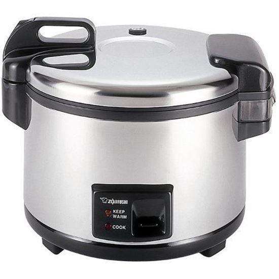 Zojirushi NYC-36 20-Cup cru riz commercial cuisinière réchaud en acier inoxydable