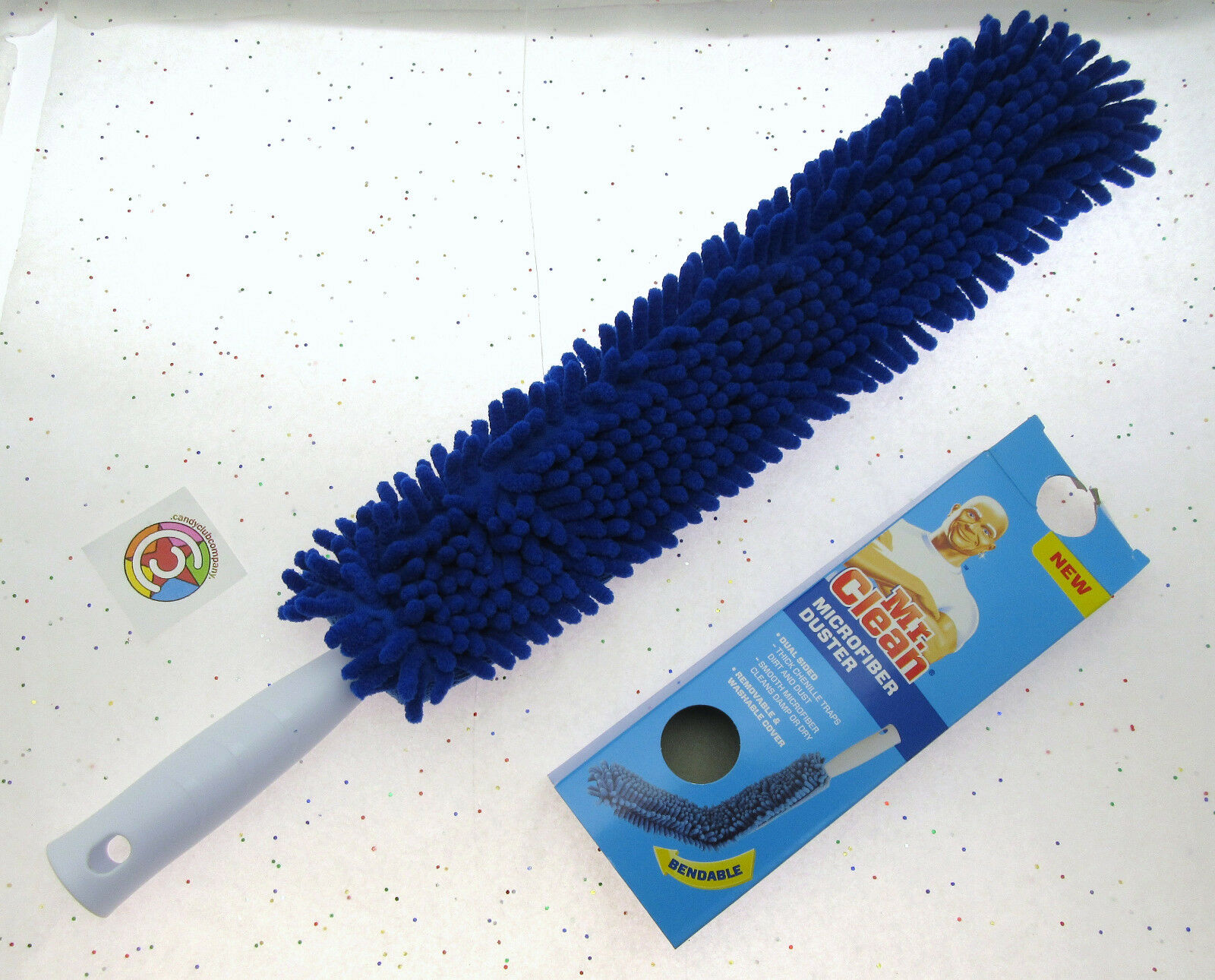 Clean Microfiber Duster-Bendable Mr