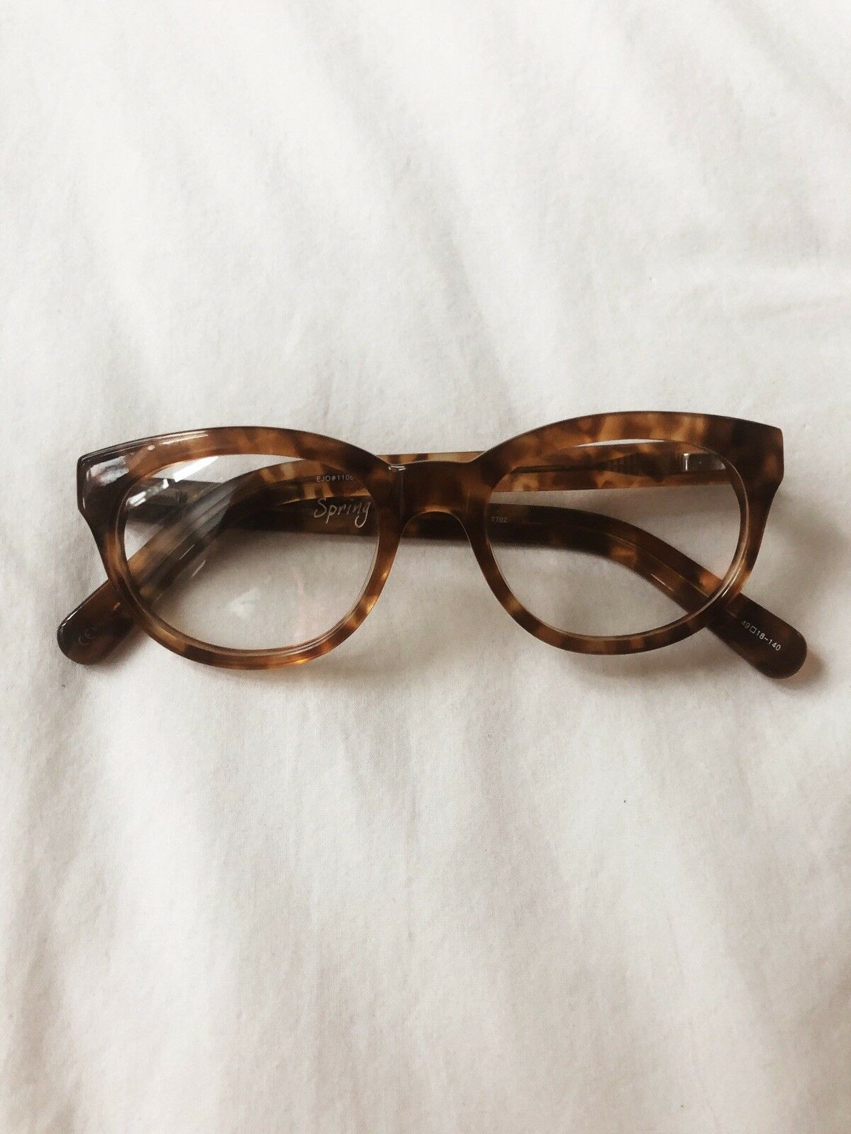 Warby Parker Tortoise Round With Slight Cat Eye G… - image 5