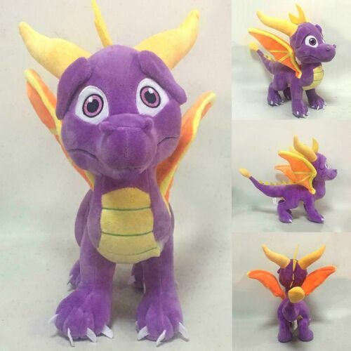 "The Legend of Spyro the Dragon 10/"" 25cm Game Cartoon Soft Plush Toy Doll Figure"