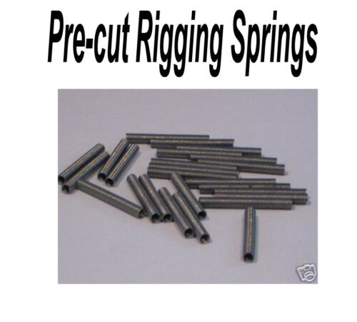 1.5mm Stainless Spring. The best line guard to rig with. Fishing line protector