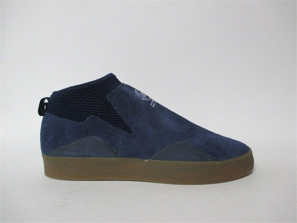 Adidas 3ST.002 College Navy Blue Gum Sz 10.5 CQ1204