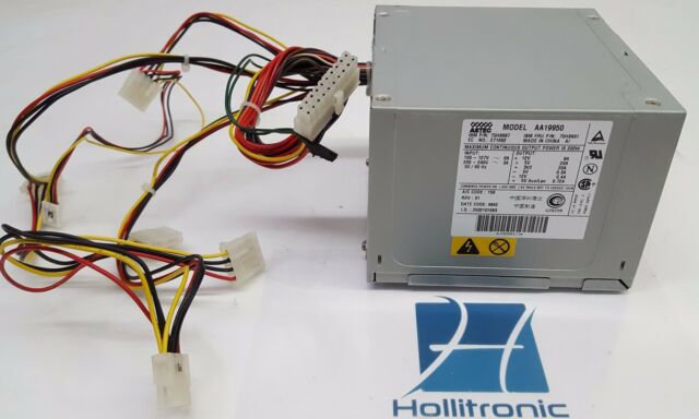 ASTEC Aa19950 200w Computer Power Supply ATX 20 Pin 1 Fan 75h8987   eBay