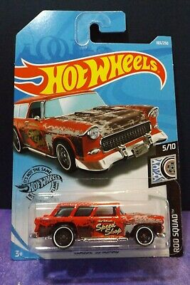 2019 HOT WHEELS CLASSIC /'55 NOMAD RED