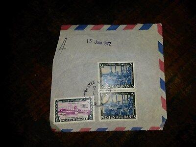 WohltäTig Afghanische Airmail 12.06.1972 Gelaufen Sammlungsauflösung - P19 Heller Glanz