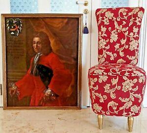 SPANIEN-um-1700-Olgemaelde-Burg-Adel-Edelmann-Francisco-Puigener-y-Oris-1660-1728