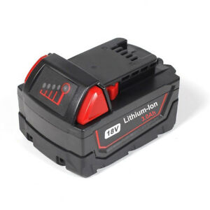 18V-Lithium-Ion-Battery-for-Milwaukee-M18-48-11-1850-48-11-1840-XC-3-0Ah